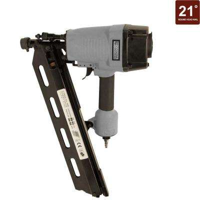 21 Degree Full Round-Head Framing Nailer