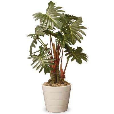21 in. Garden Accents Philodendron Flower
