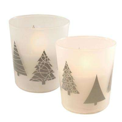 Christmas Trees Battery Operated LED Candles (2-Count)
