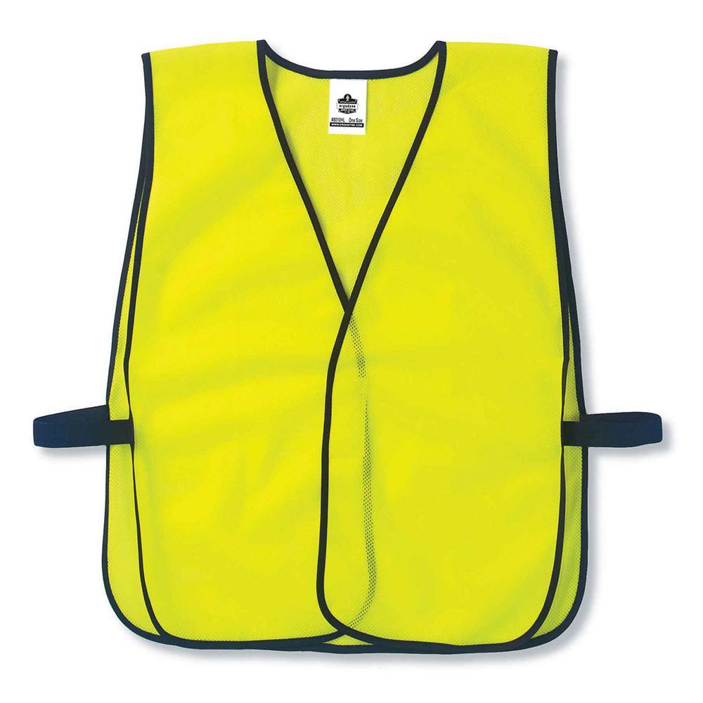 GLoWEAR Lime Hi-Vis Non-Certified Economy Vest