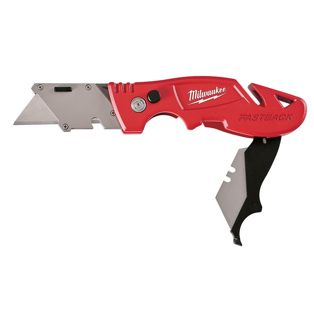 Milwaukee Fastback Flip Utility Knife With Blade Storage