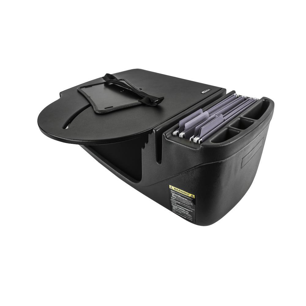 Roadmaster Car Desk with Black Inverter