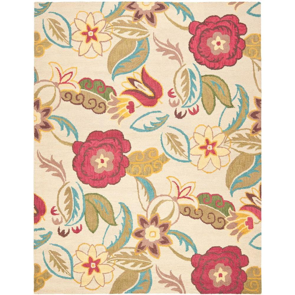 Blossom Beige/Multi 8 ft. 9 in. x 12 ft. Area Rug