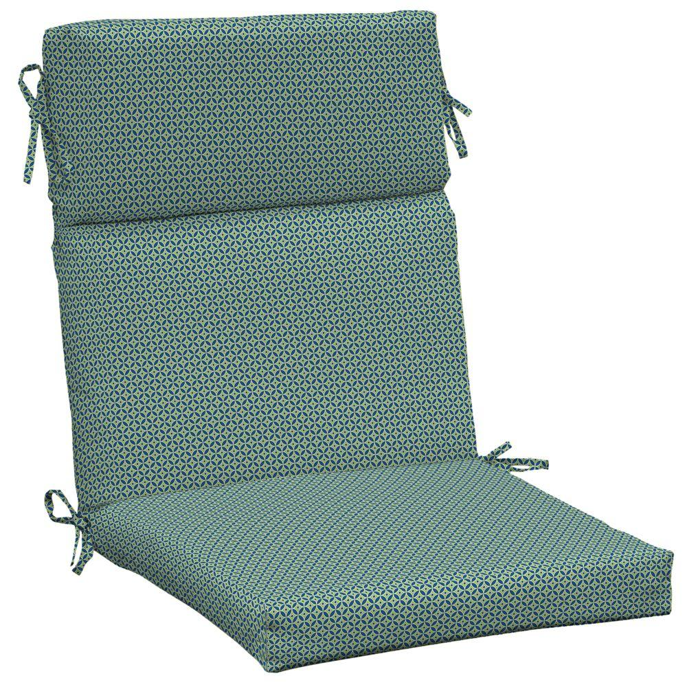 Arden Chevdiva High Back Outdoor Chair Cushion-DISCONTINUED