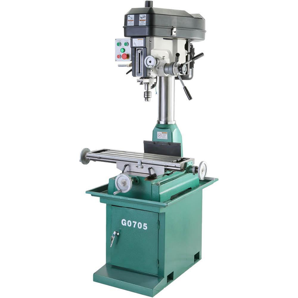 Grizzly Industrial 29 in. x 8 in. Table Stand with Mill/Drill