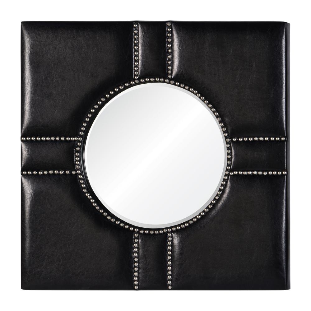 Quincy Black and Silver Decorative Mirror