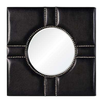 Quincy Black and Silver Decorative Mirror