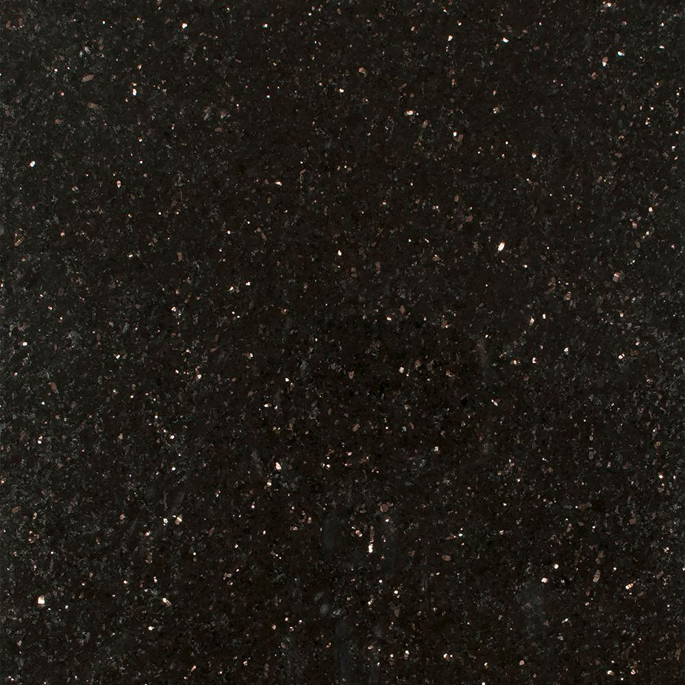 stonemark granite 3 in x 3 in granite countertop sample in black