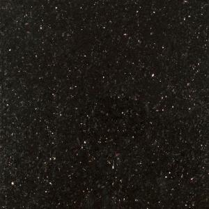 Stonemark Granite 3 In X Countertop Sample Black Galaxy Dt G772 The Home Depot