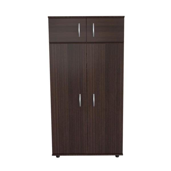 Inval Espresso-Wengue Armoire AM-2823