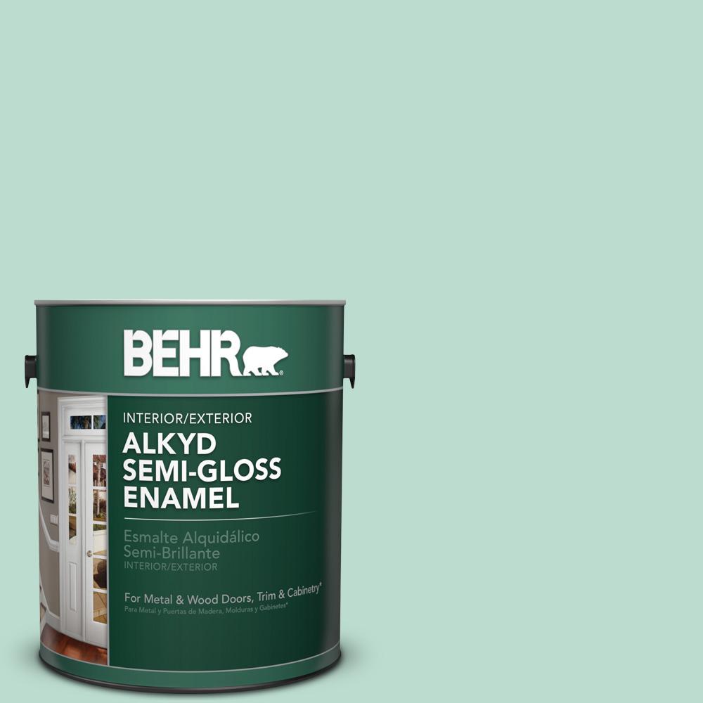 1 gal. #M420-3 Mirador Semi-Gloss Enamel Alkyd Interior/Exterior Paint