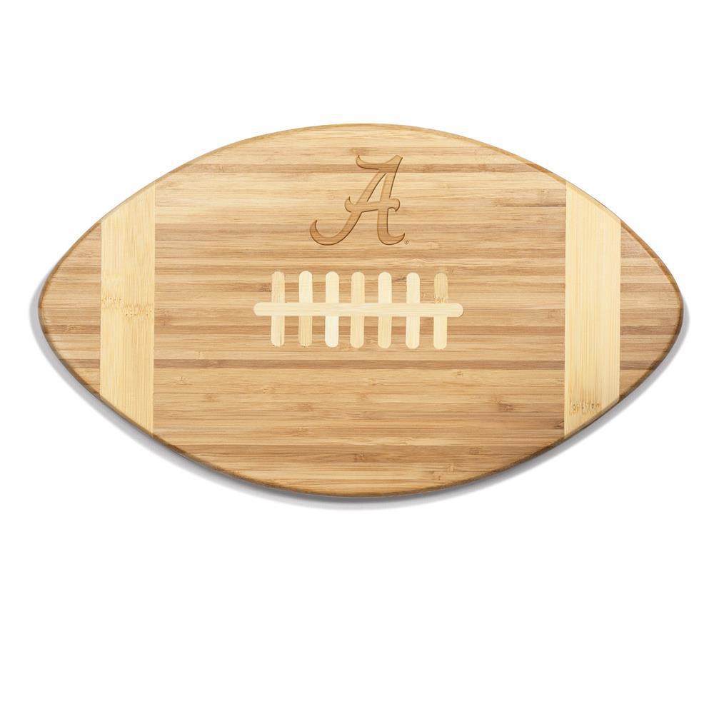 Alabama Crimson Tide Touchdown Bamboo Cutting Board
