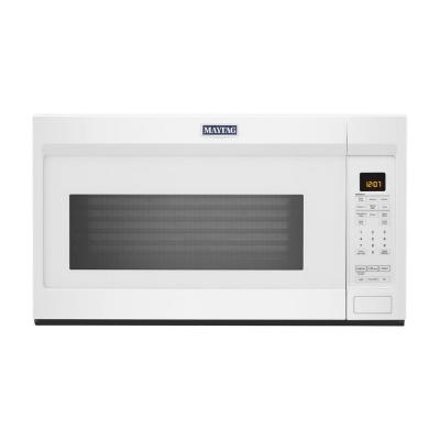 Maytag 1.9 cu. ft. Over the Range Microwave with Dual Crisp Function in  White-MMV4207JW - The Home DepotThe Home Depot