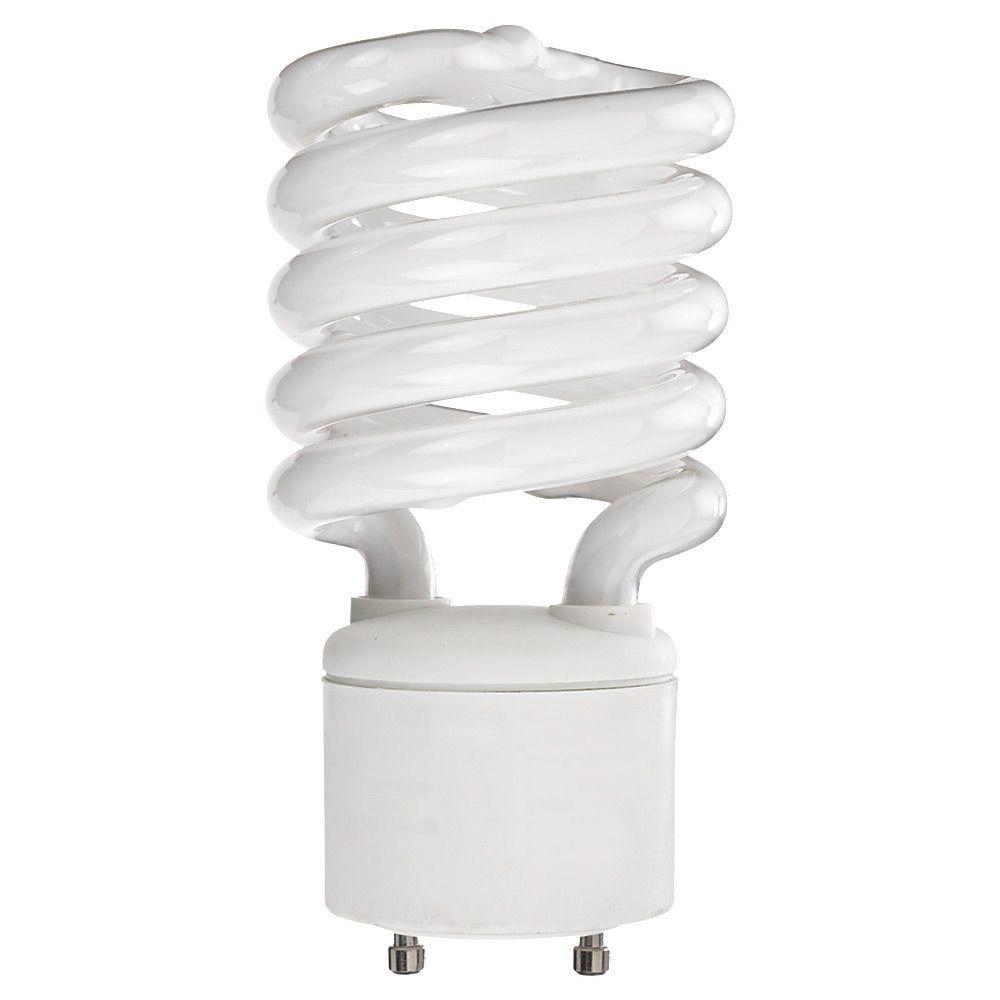2.375 in. GU24 26-Watt Bright White (2700K) Fluorescent Light Bulb