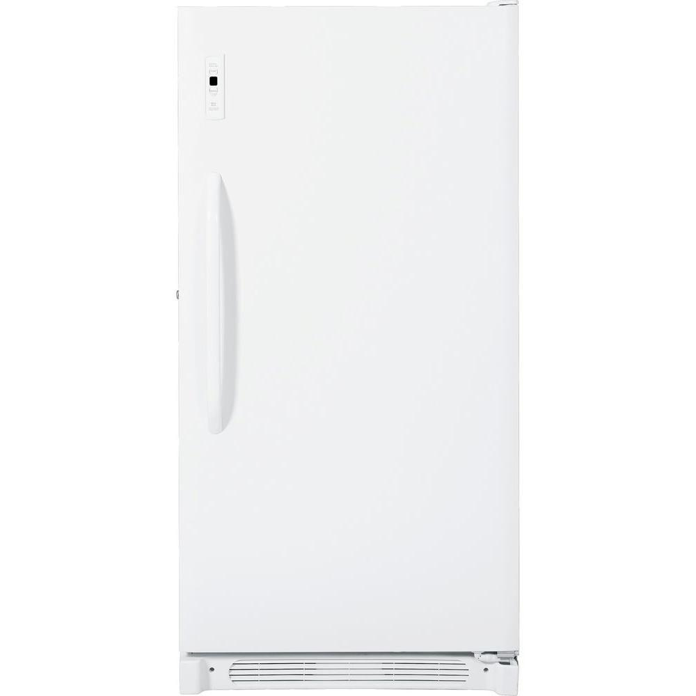 GE 16.7 cu. ft. Frost Free Upright Freezer in White