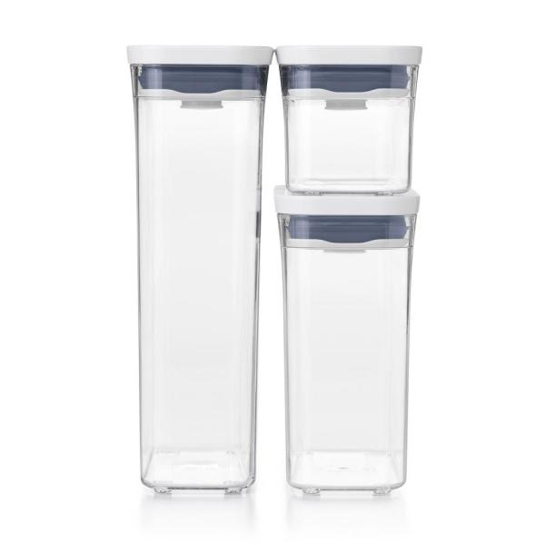 Good Grips 3-Piece Slim Canister POP Container Set
