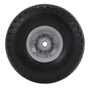 Cosco 10 inch x 3 inch Flat-Free Replacement Wheels for Hand Trucks (2-pack) by Cosco