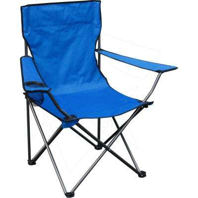 Blue Quik Chair Folding Chair