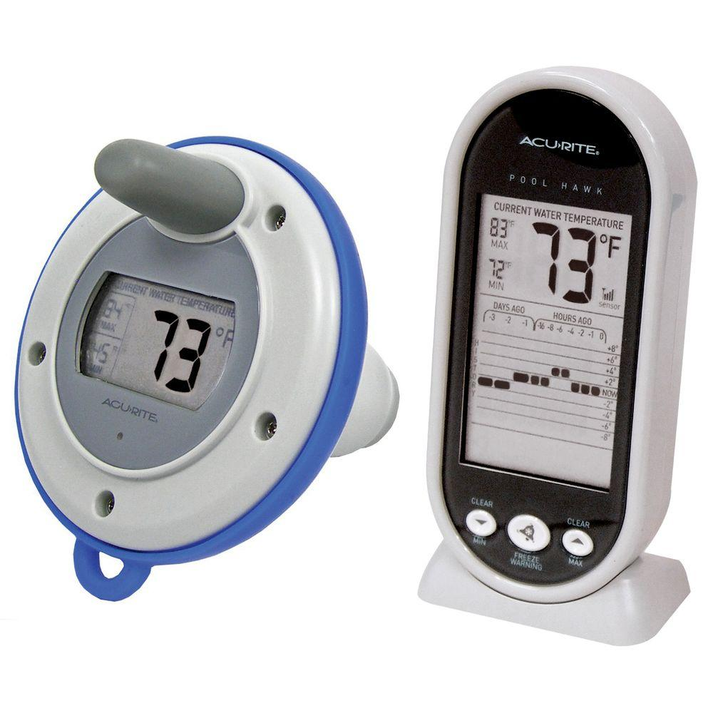 AcuRite Wireless Digital Floating Pool and Spa Thermometer