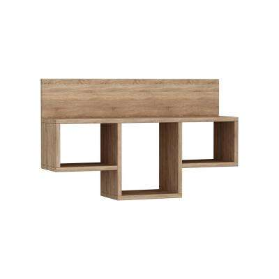 Warrington Oak Modern Wall Shelf