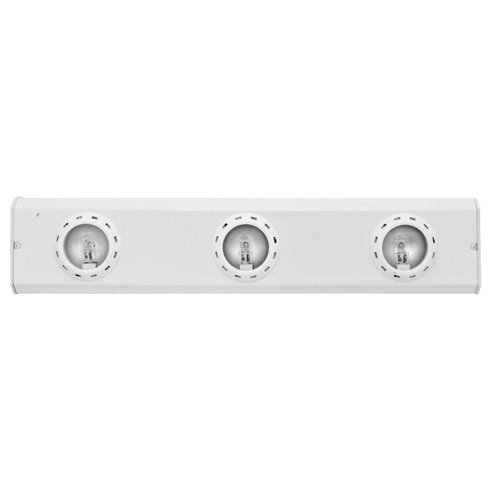Ge 18 In Halogen White Advantage Linkable Light Fixture