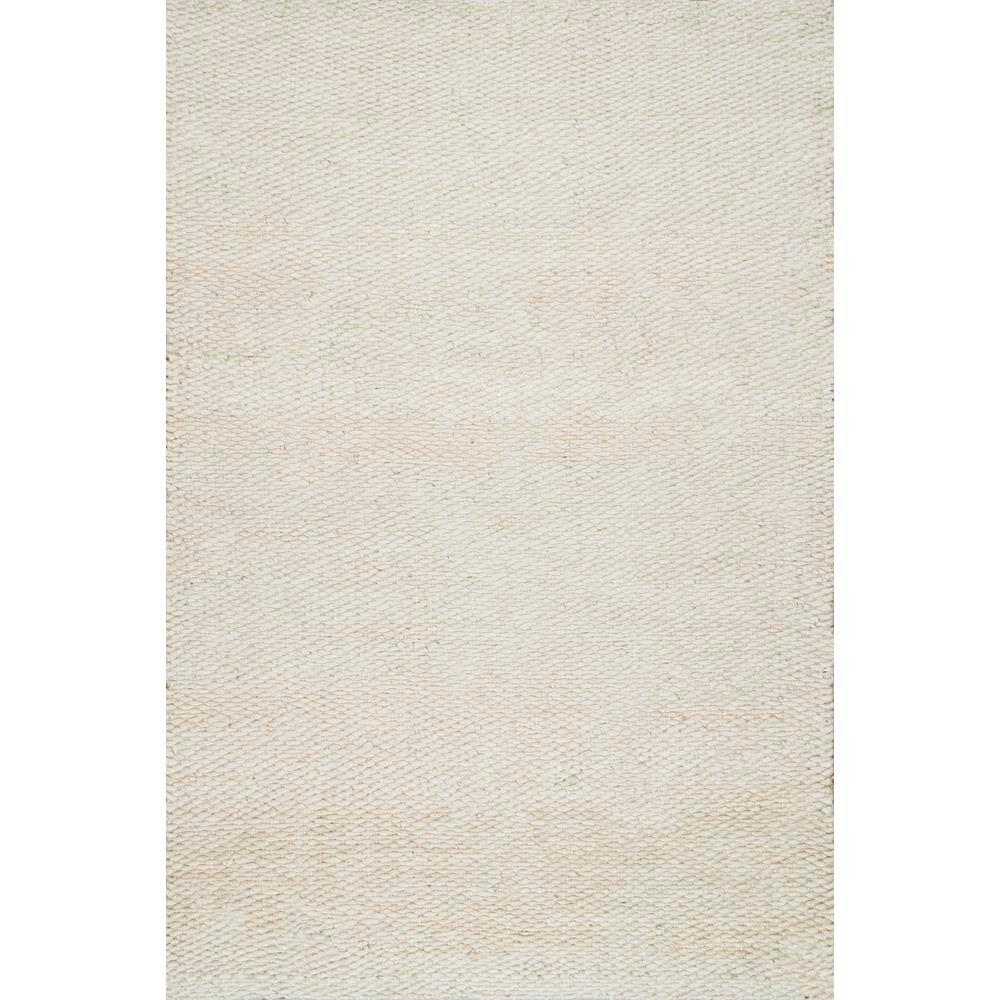 Nuloom Hailey Jute Bleached 9 Ft X 12 Ft Area Rug On01b