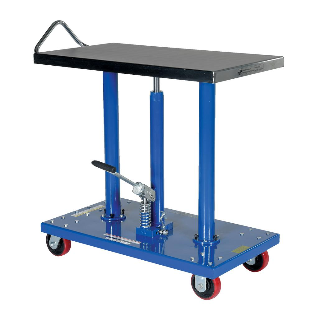 1,000 lb. Capacity 20 in. x 36 in. Hydraulic Post Table