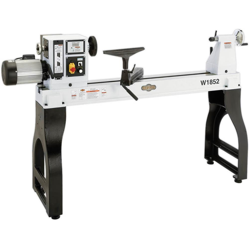 Shop Fox 22 inch x 42 inch 220-Volt 3 HP Variable Speed Wood Lathe