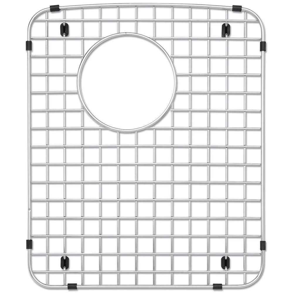 Genial Blanco Stainless Steel Sink Grid For Fits Diamond Double Right Bowl