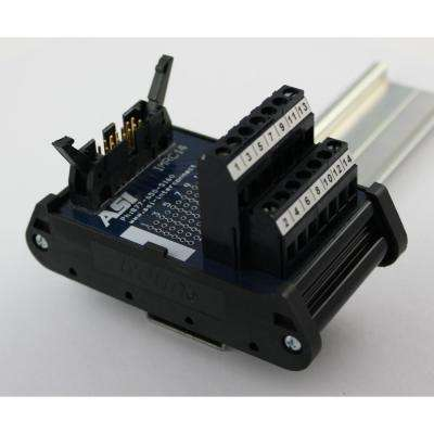 IMRC14 Ribbon Cable Interface Module 14-Position Ribbon Cable to Screw Clamp Terminal Block