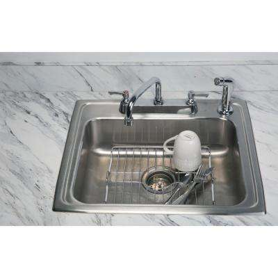 Medium Chrome Sink Protector