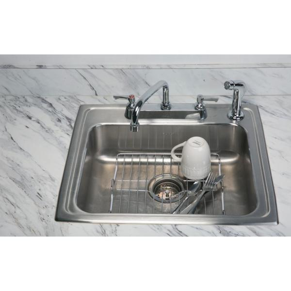 Kitchen Details Medium Chrome Sink Protector 4864 - The Home ...