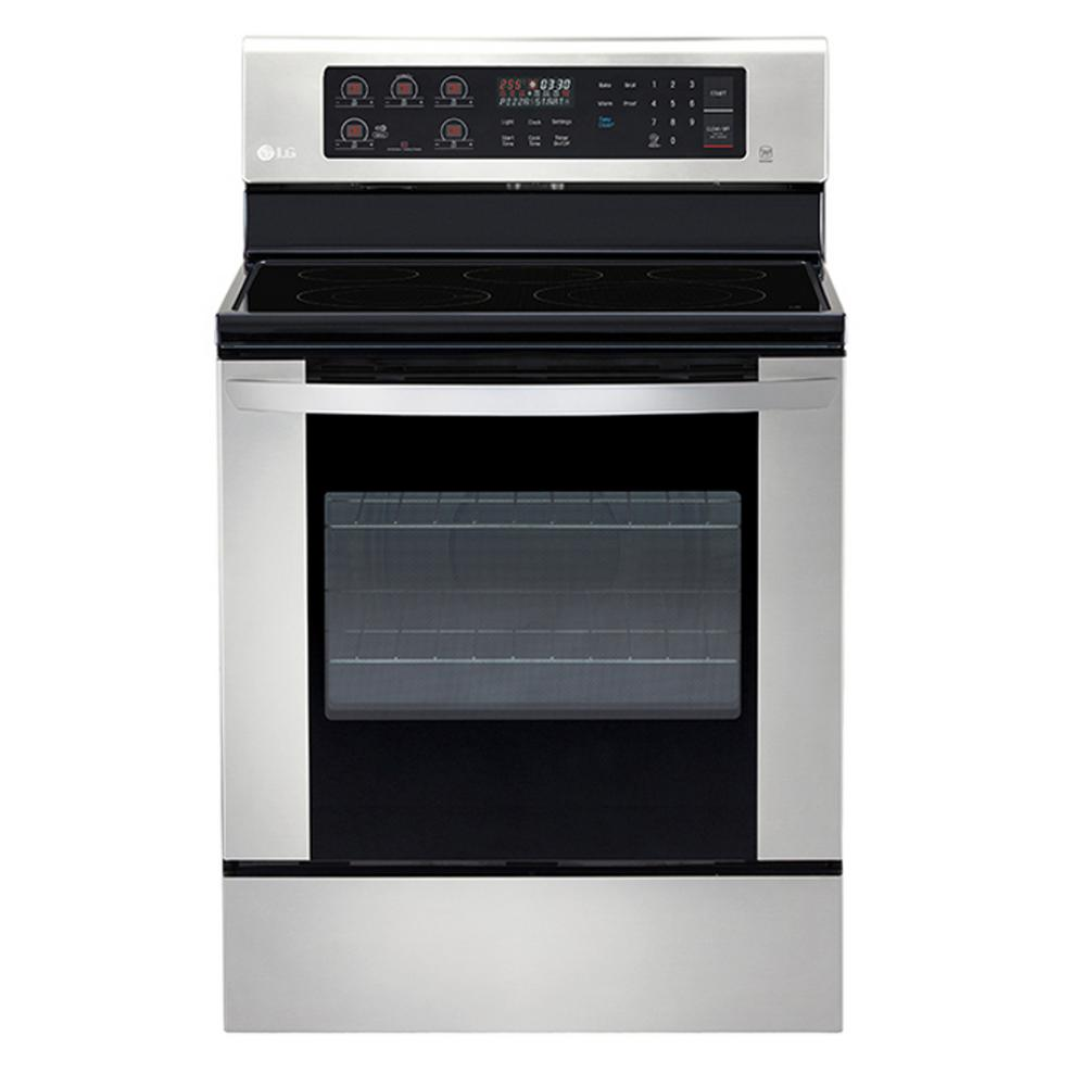 6 3 Cu Ft Single Oven Electric Range