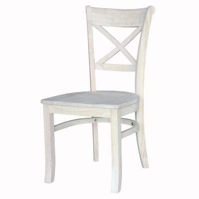 Charlotte Unfinished Wood Side Chair (Set of 2)