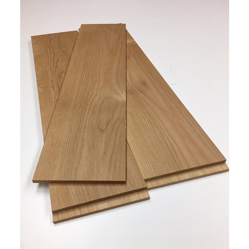 0.25 in. x 5.5 in. x 4 ft. Alder Hobby Board (5 pack)