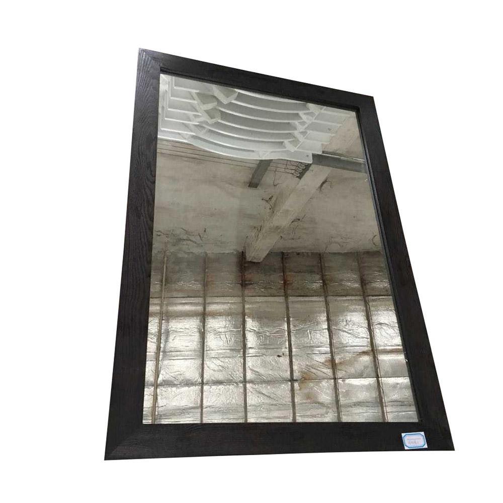 Westcourt 42 in. x 28 in. Framed Wall Mirror in Authentic Espresso