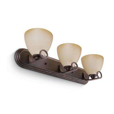 Maurice 3-Light Oiled Bronze Sconce