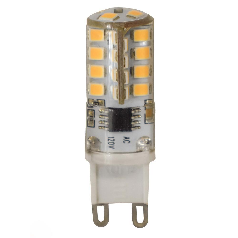 Maxim Lighting 40-Watt Equivalent G9 Soft White LED Light Bulb