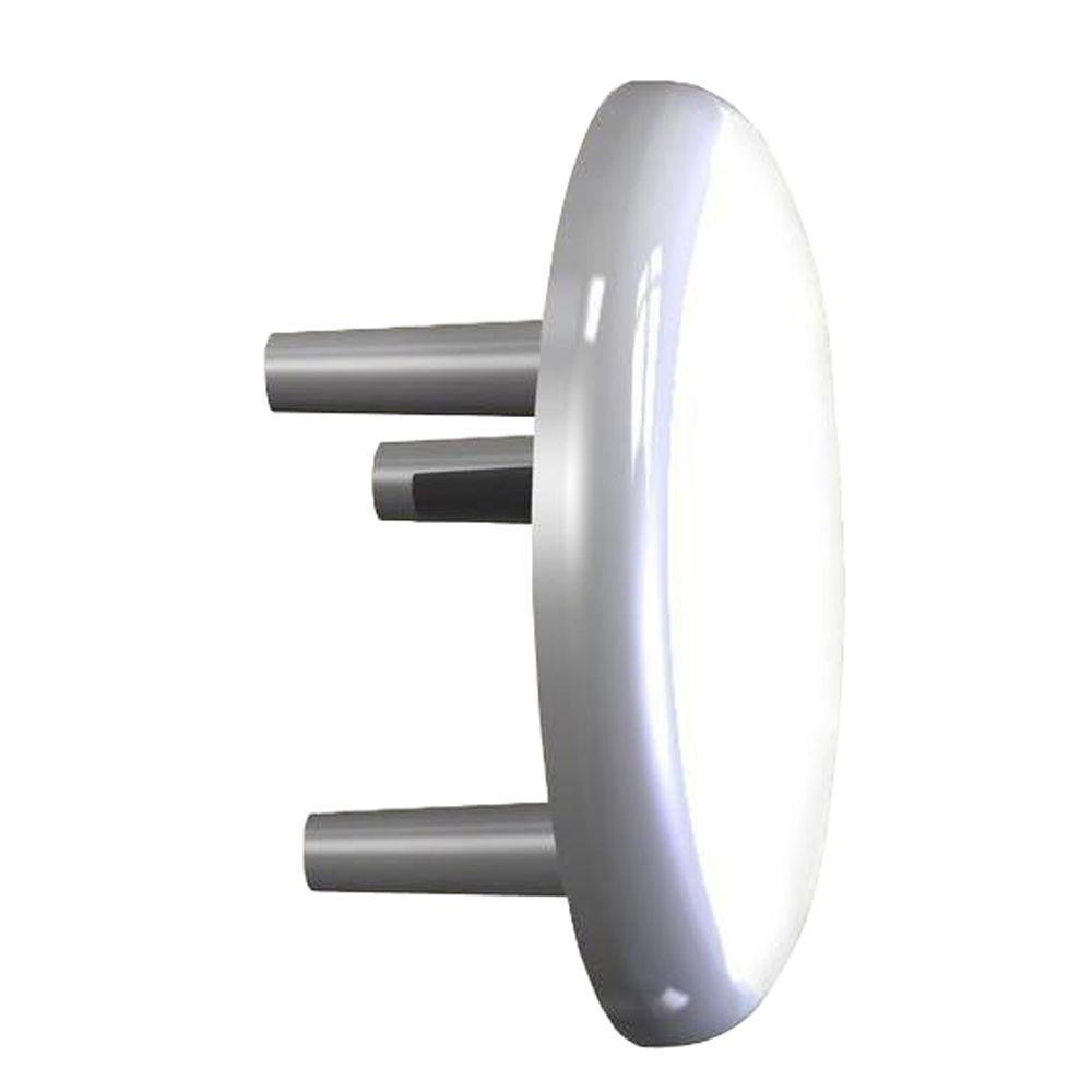 White Handrail End Cap