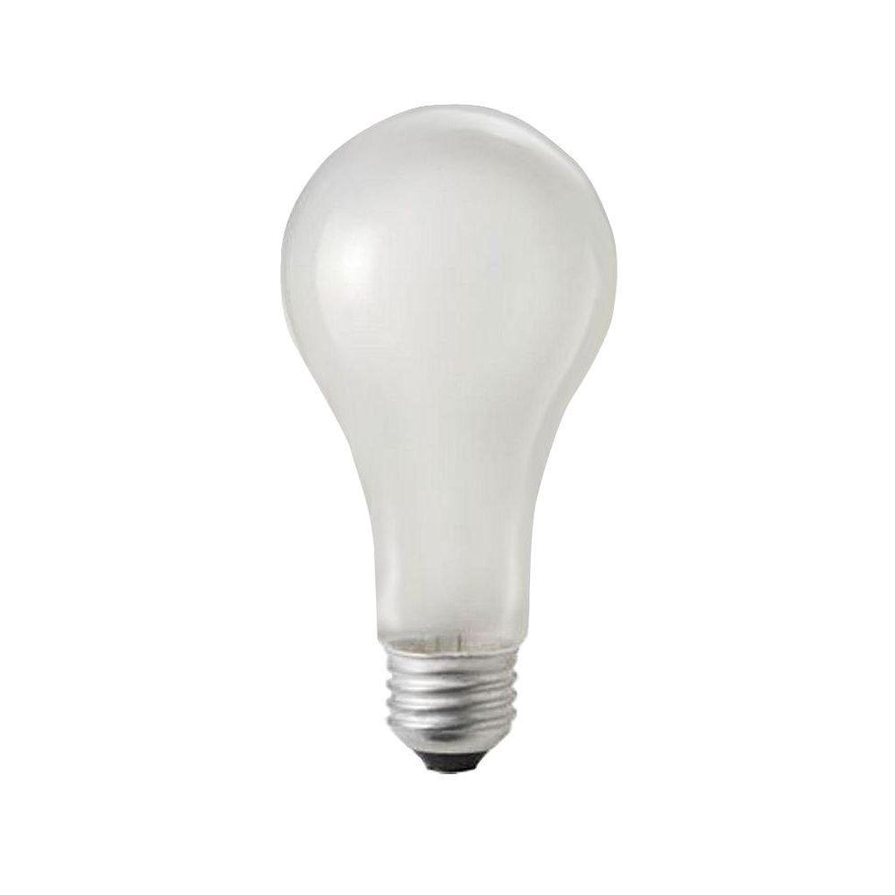 Philips 100-Watt Incandescent A21 120-130-Volt Rough Service Frosted Light Bulb (60-Pack)