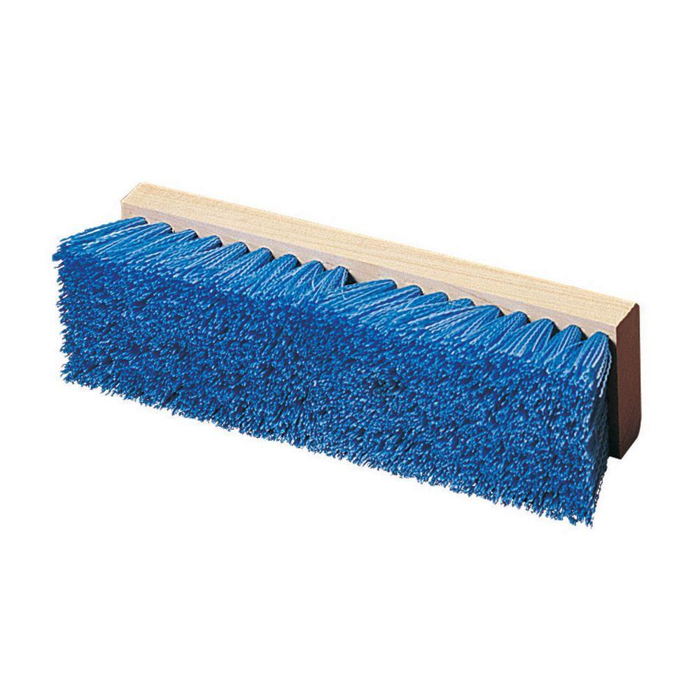 Carlisle 12 inch Polypropylene Blue Bristles Floor and Deck Scrub Brush (Case of... by Carlisle