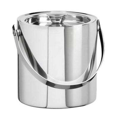 1.5 Qt. Insulated Ice Bucket in Polished Stainless Steel