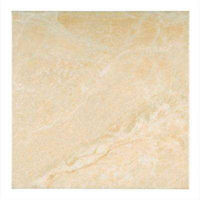 Medea Beige 13.5 in. x 13.5 in. Ceramic Floor and Wall Tile (14.95 sq. ft. / case)