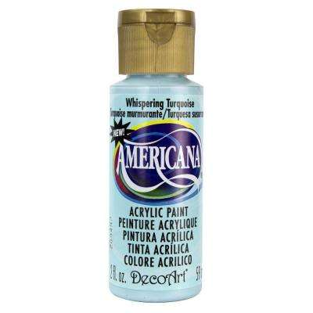 Americana 2 oz. Whispering Turquoise Acrylic Paint