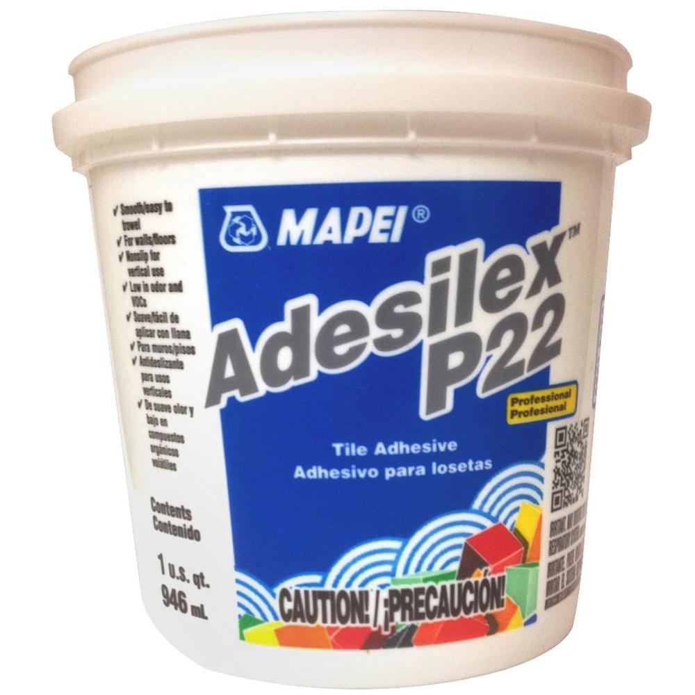 Mapei adesilex p 22 1 qt tile adhesive 010101 the home depot dailygadgetfo Choice Image