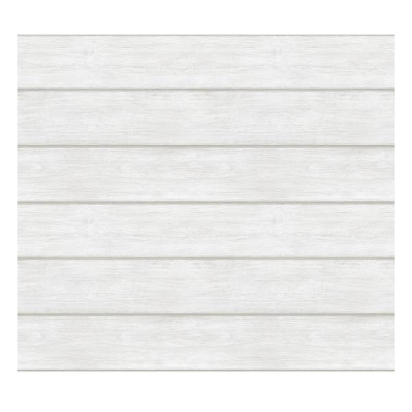 White Wood Timber Wall Decal