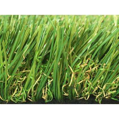 GREENLINE Sapphire 50 Fescue Artificial Grass Synthetic Lawn Turf Carpet for Outdoor Landscape 7.5 ft. x Custom Length