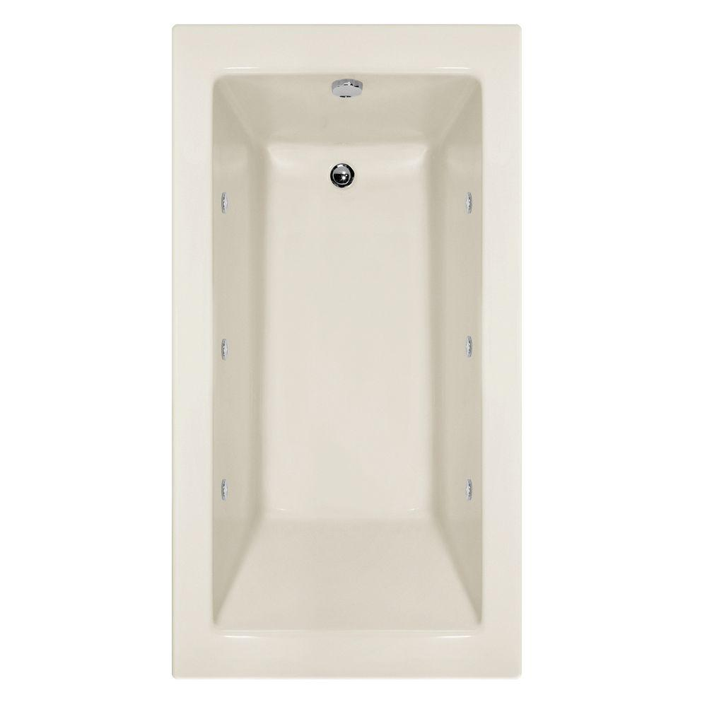 Hydro Systems Studio Sydney 5 ft. Whirlpool Tub with Left Hand Drain ...