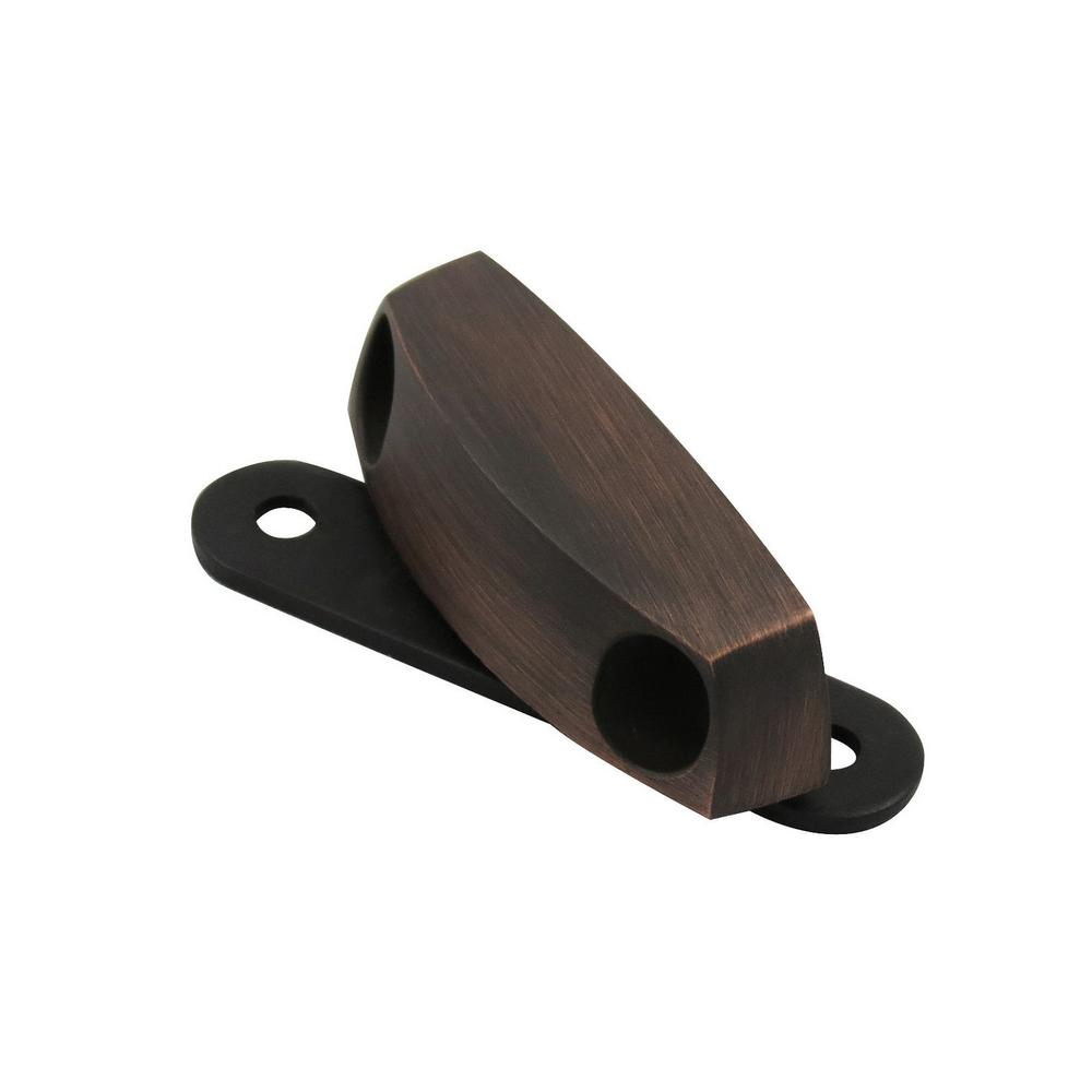 Richelieu Hardware 2-9/32 in. Brushed Oil-Rubbed Bronze Classic Magnetic Metal Latch