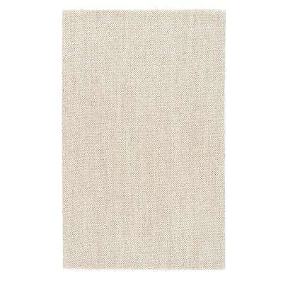 Natural White Asparagus 8 ft. x 10 ft. Solid Area Rug